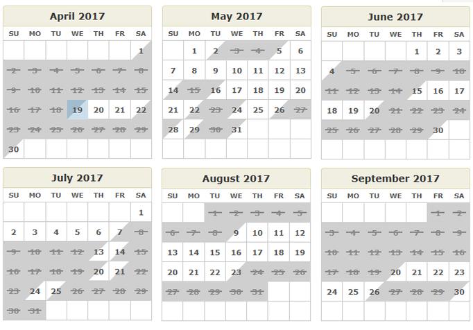 51 dates